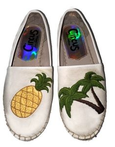 Circus Sam Edelman Palm Tree & Pinapple Espadrille